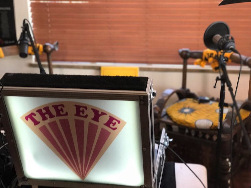 Innovator Q&A: The Eye's radio studio in a suitcase
