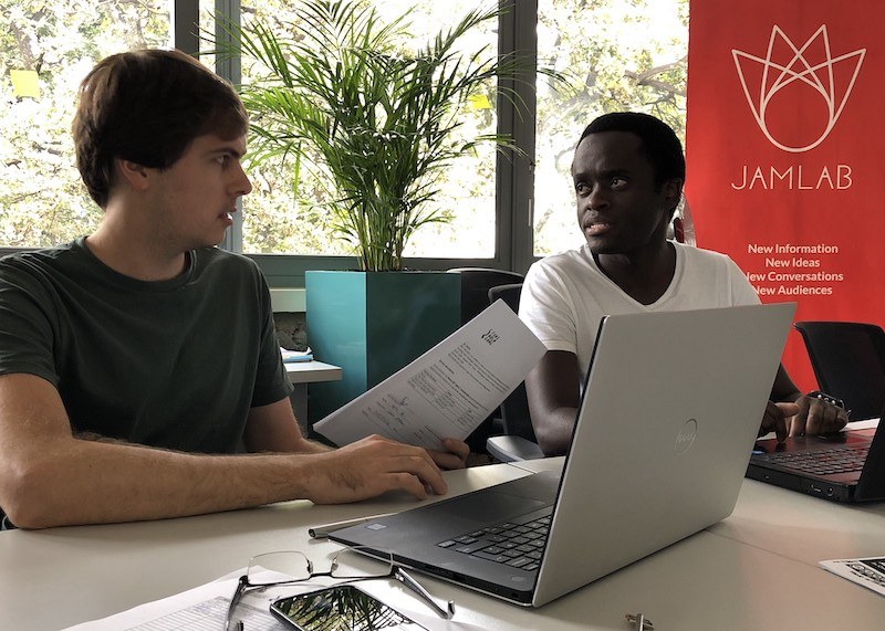 Jamlab Accelerator: 15 Minutes with Politcally Aweh