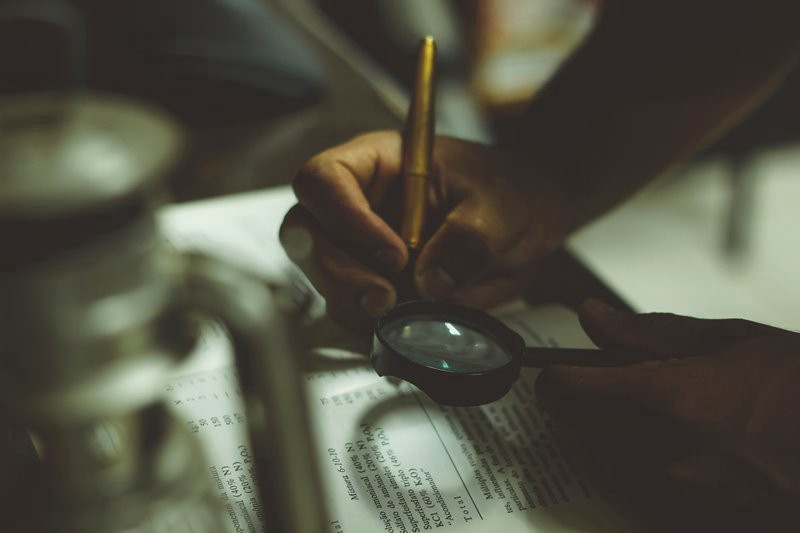 How to write an investigative book