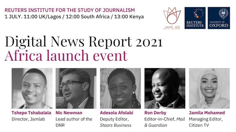 Digital News Report 2021 Africa launch