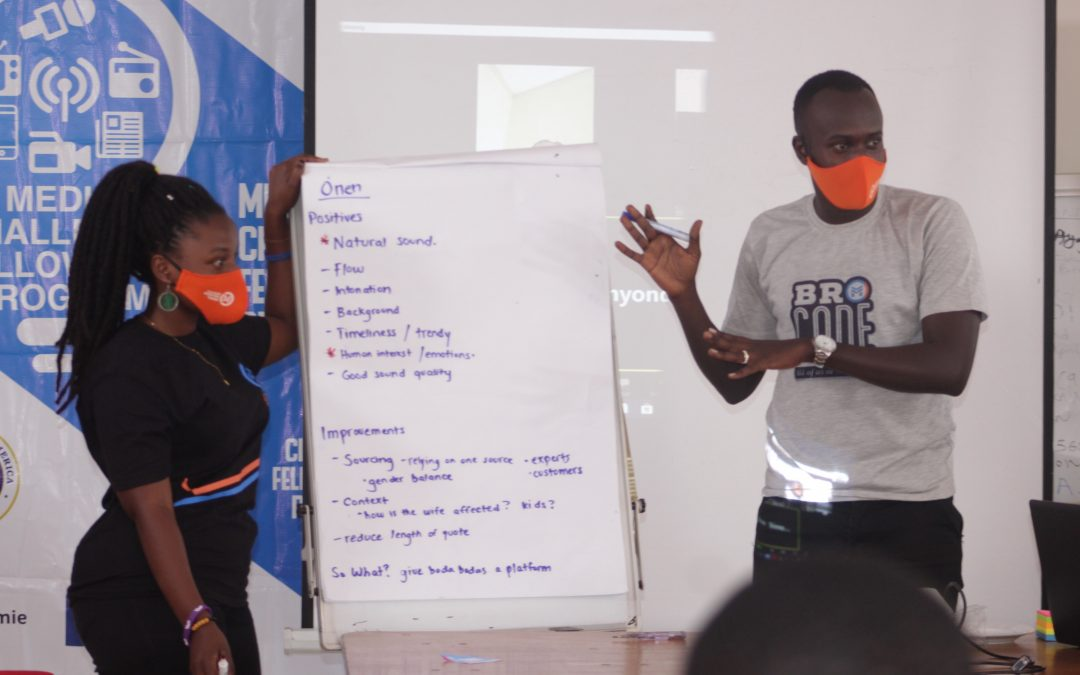 How a youth-led Ugandan media social enterprise is breaking new ground in training budding journalists